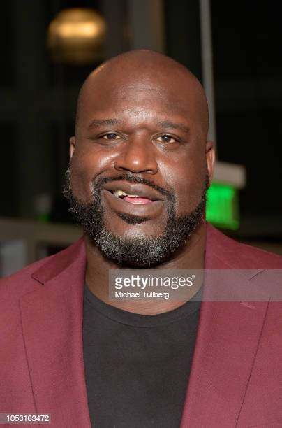 Shaquille O'Neal attends a special screening of Killer Bees at WeWork Constellation on October 24 2018 in Los Angeles California