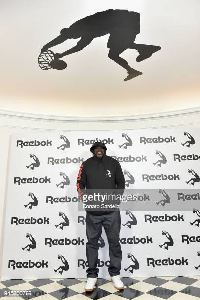 Shaquille O'Neal attends an event celebrating Reebok and Victoria Beckham celebrate their partnership. Special guest Shaquille O'Neal officially...