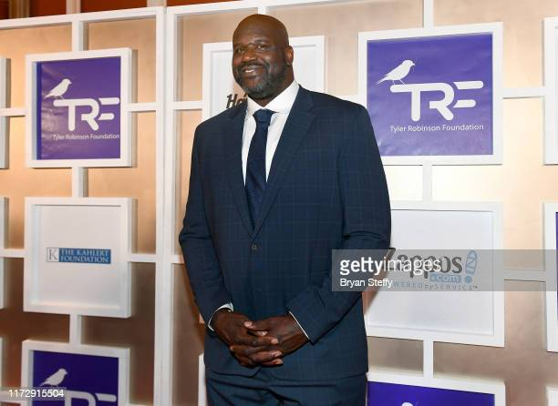 Shaquille O'Neal attends Imagine Dragons' sixth annual Tyler Robinson Foundation Gala at Wynn Las Vegas on September 06 2019 in Las Vegas Nevada
