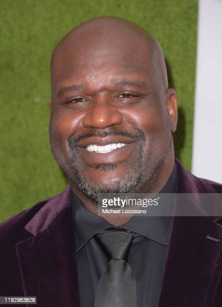 Shaquille O'Neal attends the 2019 Sports Illustrated Sportsperson Of The Year at The Ziegfeld Ballroom on December 09 2019 in New York City