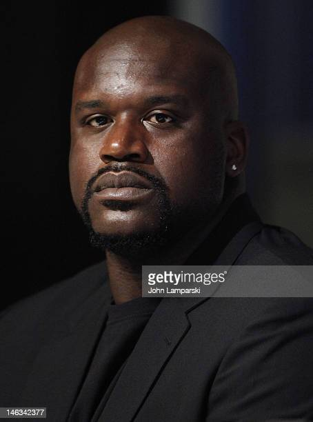 Shaquille O'Neal attends the 71st Annual Father Of The Year Awards at the New York Sheraton Hotel Tower on June 14 2012 in New York City