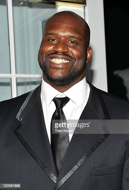 Shaquille O'Neal attends The Greenbrier for the gala opening of the Casino Club on July 2 2010 in White Sulphur Springs West Virginia