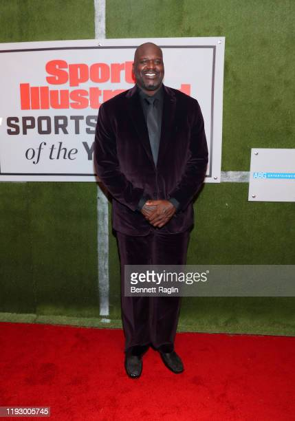 Shaquille O'Neal attends the Sports Illustrated Sportsperson Of The Year 2019 at The Ziegfeld Ballroom on December 09, 2019 in New York City.