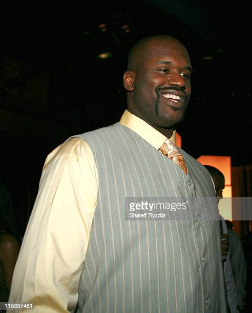 Shaquille O'Neal during NBA Players Association Gala at Convention Center in Houston Texas United States