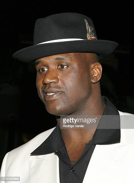 Shaquille O'Neal during Shaquille O'Neal's 34th Birthday Celebration Arrivals in Miami Florida United States