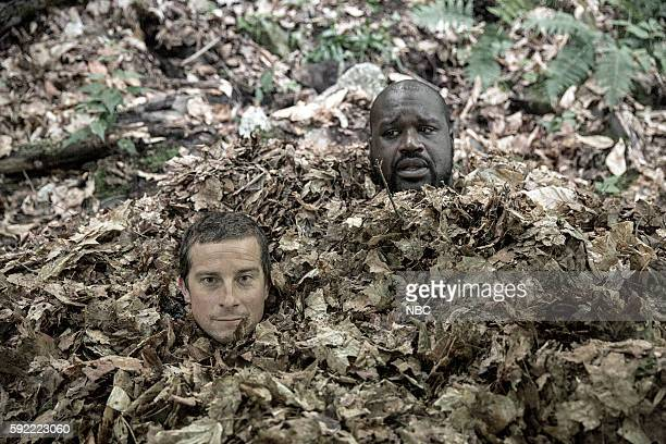 GRYLLS 'Shaquille O'Neal' Episode 307 Pictured Bear Grylls Shaquille O'Neal