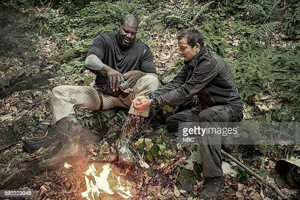 GRYLLS Shaquille O'Neal Episode 307 Pictured Shaquille O'Neal Bear Grylls