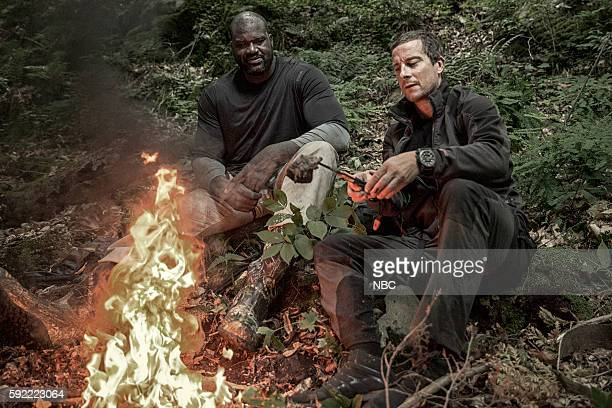 GRYLLS 'Shaquille O'Neal' Episode 307 Pictured Shaquille O'Neal Bear Grylls