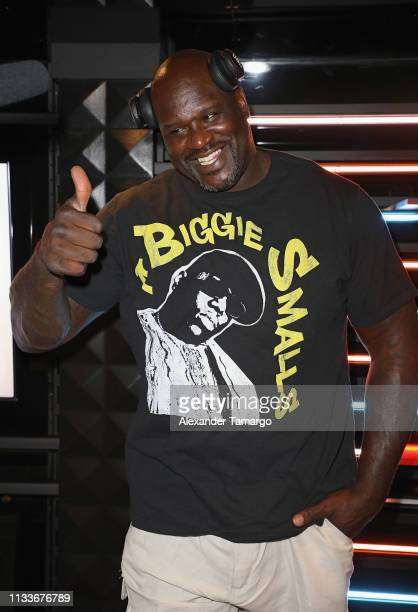 Shaquille O'Neal partied the night away at Shaq's Fun House presented by JBL The party was one of the two events that JBL participated in during...