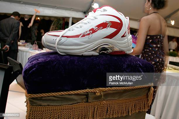 Shaquille O'Neal's Auction Size 22 Basketball Shoe attends Russell and Kimora Lee Simmons and the Rush Philanthropic Arts Foundation Present the 2nd...