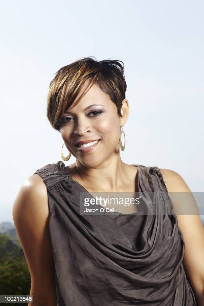 Shaquille O'Neal's ex wife Shaunie O'Neal poses at a portrait session for People in Los Angeles CA on May 25 2010 PUBLISHED IMAGE