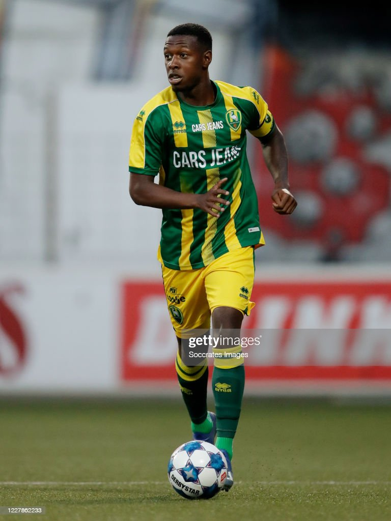 Shaquille Pinas Of Ado Den Haag During The Club Friendly Match News Photo Getty Images