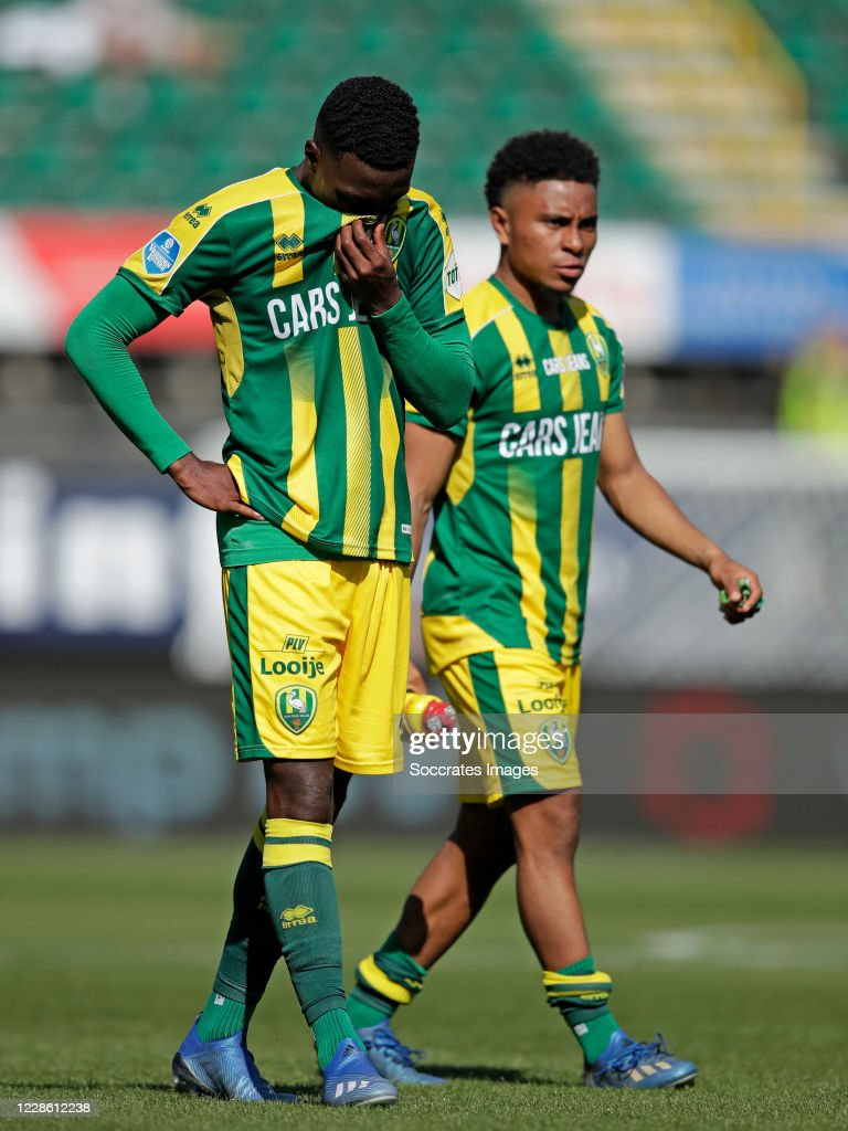 Shaquille Pinas Of Ado Den Haag During The Dutch Eredivisie Match News Photo Getty Images