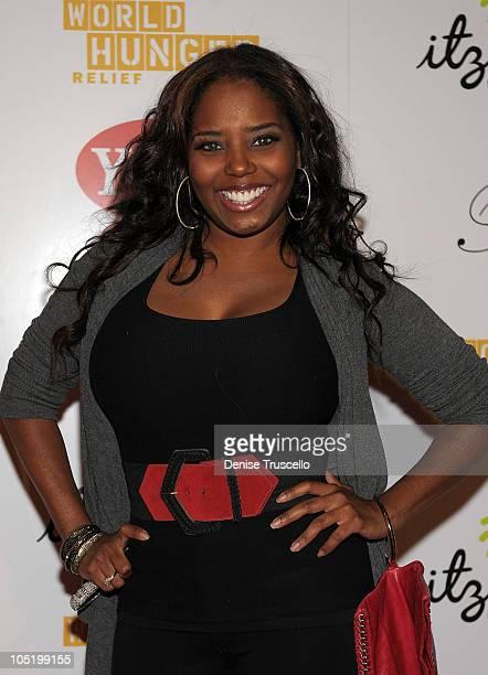 Shar Jackson attends World Hunger Relief Fundraiser for UN World Food Program at Eve Nightclub on October 11 2010 in Las Vegas Nevada