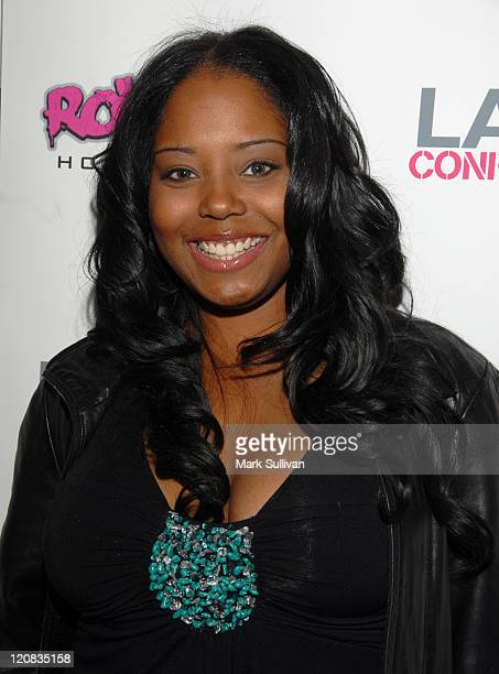 Shar Jackson during Alex A Quinn Hosts 'LA Confidential' Hollywood Mixer January 26 2006 at RokBar in Hollywood California United States