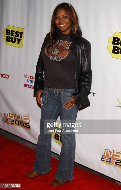 Shar Jackson during Inside: E3 2005 Party at Avalon Hollywood in Hollywood, California, United States.