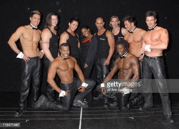 New york 39 s top ford models visit the chippendales foto e for Ford models nyc