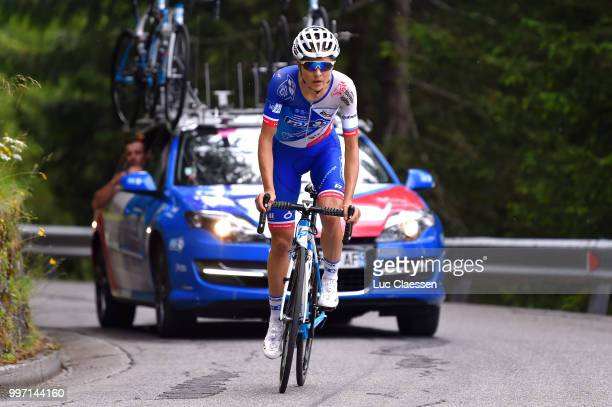 Shara Gillow of Australia and Team FDJ Nouvelle Aquitaine Futuroscope / during the 29th Tour of Italy 2018 Women Stage 7 a 15km Individual time trial...