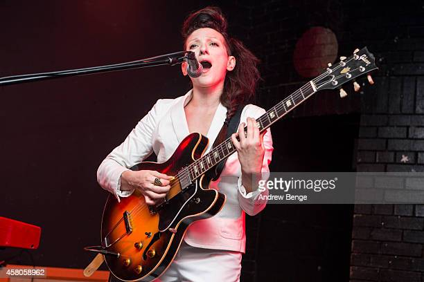 Shara Worden of My Brightest Diamond performs on stage at Brudenell Social Club on October 29 2014 in Leeds United Kingdom