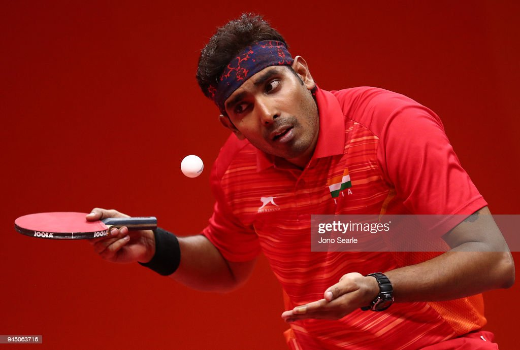 Table Tennis - Commonwealth Games Day 8 : News Photo