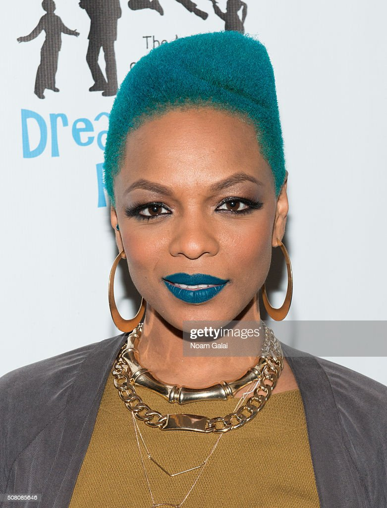 Sharaya J attends the Bronxwrites' Poetry Slam finals at Joe's Pub on February 2, 2016 in New York City.