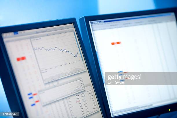 share graph and prices - bull market stock pictures, royalty-free photos & images