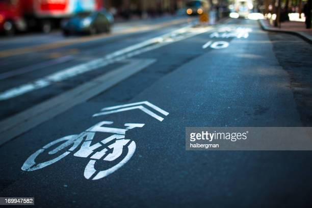 Shared Bicycle Lane, San Francisco