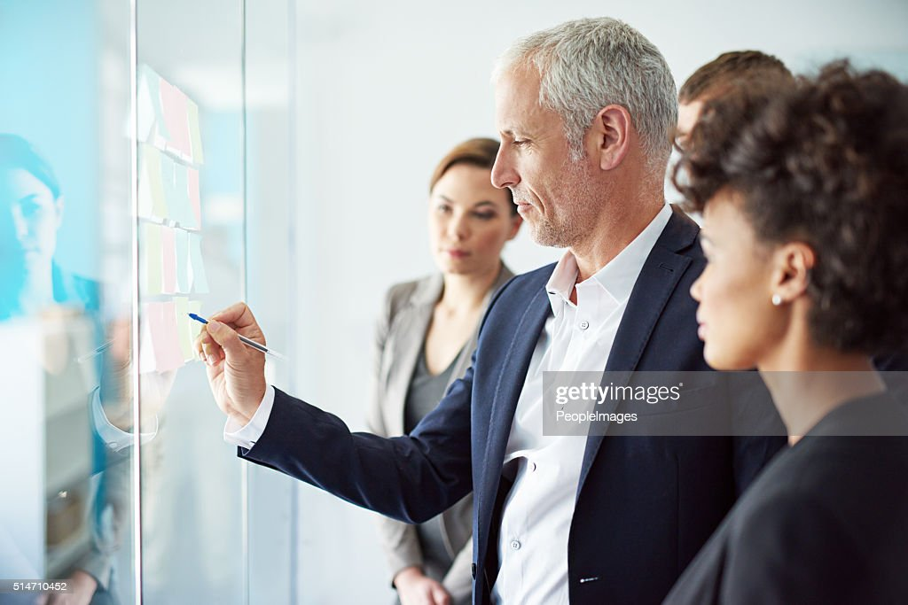 Shared solutions bring shared success : Stock Photo