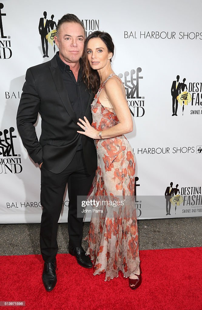 Shareef Malnik and Gabrielle Anwar attend Destination Fashion 2016 to benefit The Buoniconti Fund to Cure Paralysis, the fundraising arm of The Miami Project to Cure Paralysis at Bal Harbour Shops on March 5, 2016 in Miami, Florida.