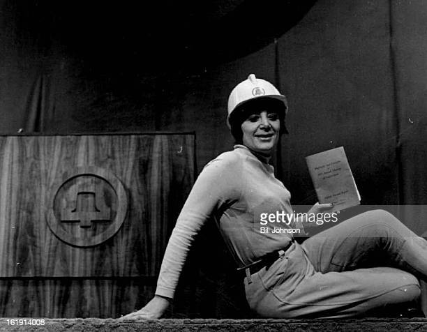FEB 6 1973 FEB 8 1974 FEB 10 1974 Shareholder Rights Advocate Shows Her Style in Denver Evelyn Davis wore riding pants and a sweatshirt at AtT's...