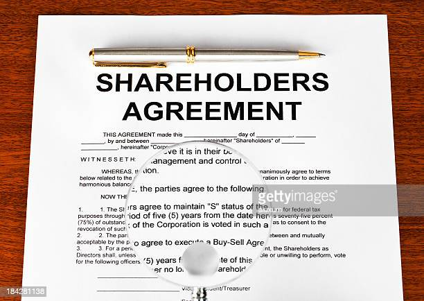 shareholders agreement - shareholder stock pictures, royalty-free photos & images