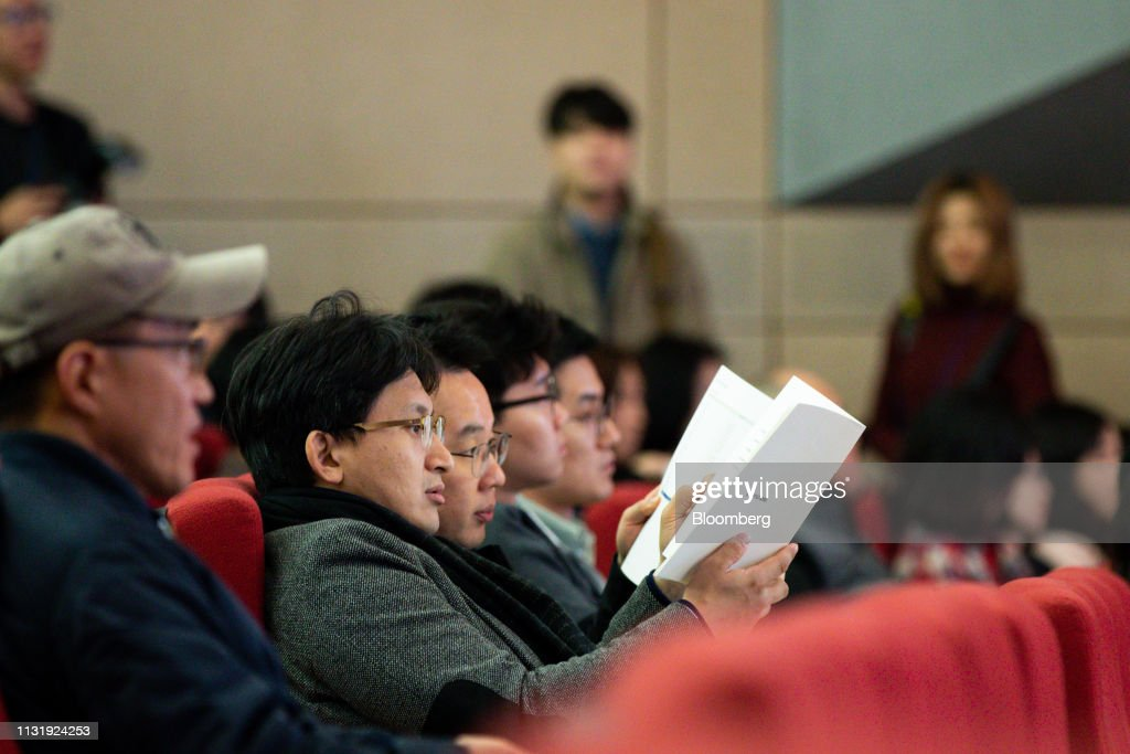 KOR: Hyundai Motor Co. Annual Shareholders' Meeting As Singer's Elliott Loses Vote on Hyundai Dividend Proposal