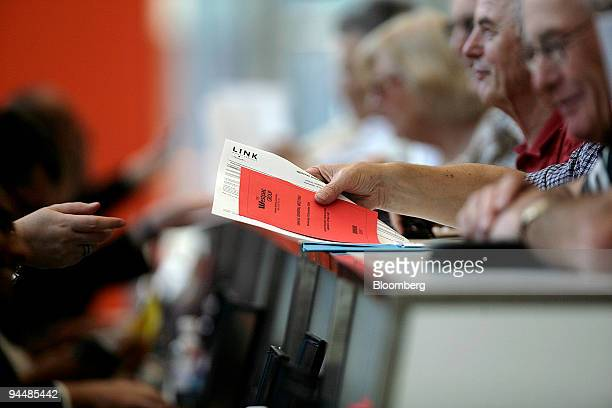 Shareholders register to attend Westpac Banking Corp's annual general meeting in Melbourne Australia on Wednesday Dec 16 2009 Westpac Banking Corp's...