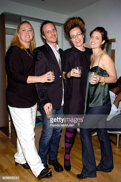 Sharelle Hicks Brandon Bell Arlene Bell and Kelly Guenther attend KolDesign/BoConcept 5th Annual Holiday Party at BoConcept on December 11 2007 in...