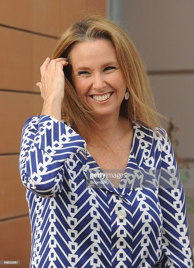 Shari Arison, owner of the Arison Group, pauses at the opening event of a new desalination facility in Hadera, Israel, on Sunday, May 16, 2010. Israeli companies have 'endless' possibilities to sell clean technology to China in areas such as water recycling, desalination and solar power, Environmental Protection Minister Gilad Erdan said. Photographer: Ahikam Seri/Bloomberg via Getty Images