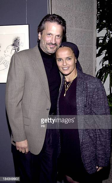 Shari Belafonte and Husband Sam Behrens during Academy Of Motion Pictures And Arts Exodus Anniversary at Academy Of Motion Pictures And Arts in Los...