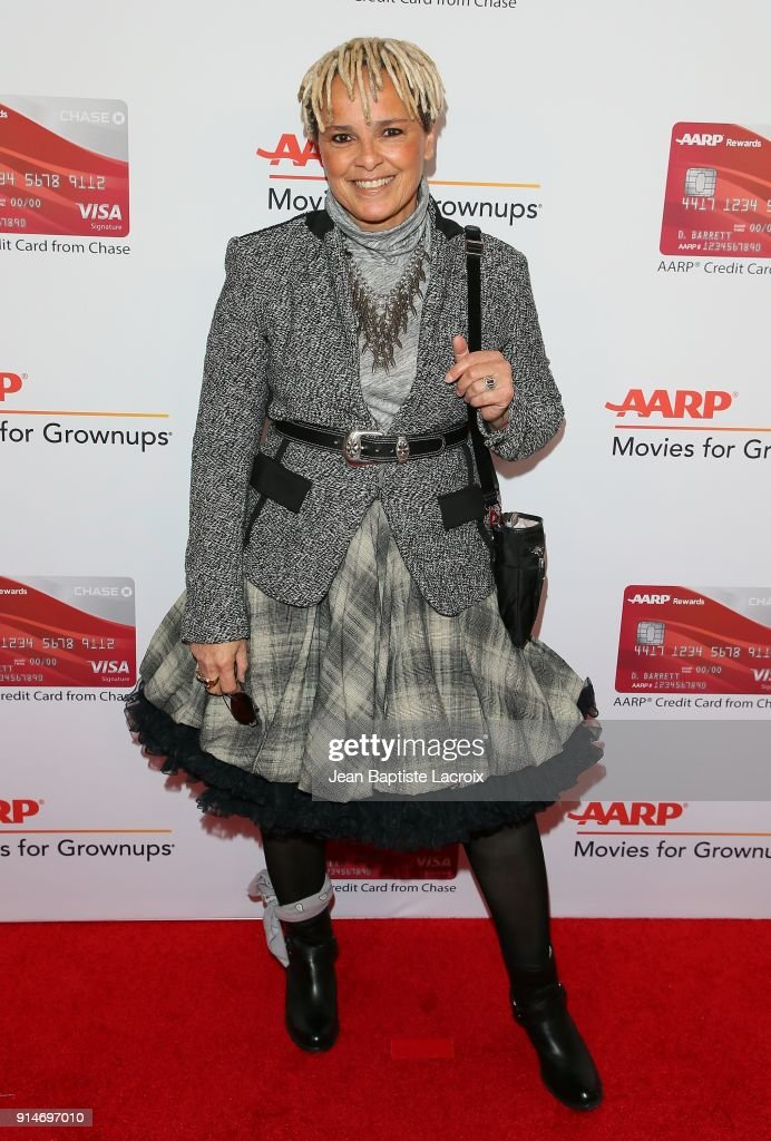 Shari Belafonte attends the AARP's 17th Annual Movies For Grownups Awards on February 05, 2018 in Beverly Hills, California.