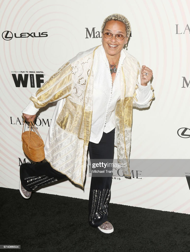 Shari Belafonte attends the Women In Film 2018 Crystal + Lucy Awards held at The Beverly Hilton Hotel on June 13, 2018 in Beverly Hills, California.