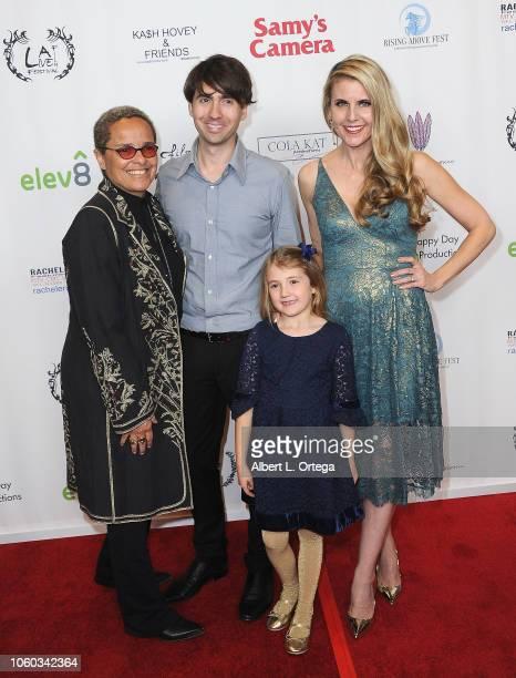 Shari Belafonte Drew Milford Kathy Kolla and Claire Milford arrives for the Film Fest LA At LA Live Kash Hovey Friends held at Regal Cinemas LA LIVE...