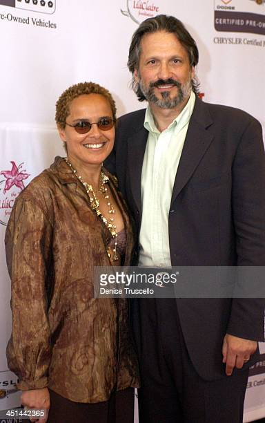 Shari Belafonte With Husband Sam Behrens during The Lili Clair Foundation 1st Annual Benefit Dinner and Auction at The RitzCarlton in Las Vegas...