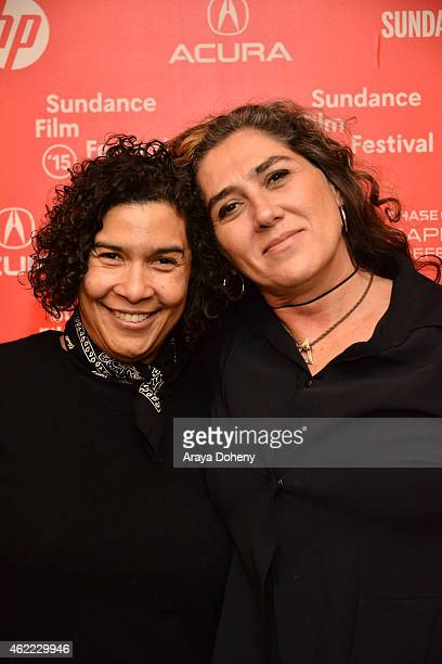 Shari Frilot and Anna Muylaert attend 'The Second Mother' Premiere 2015 Sundance Film Festival during the 2015 Sundance Film Festival on January 25...