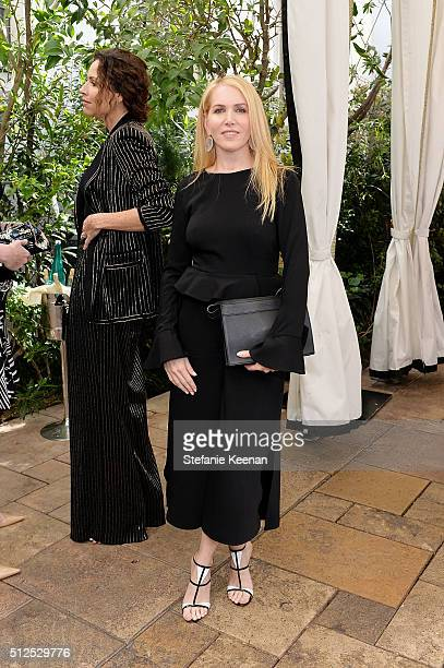 Shari Glazer attends NETAPORTER Celebrates Women Behind The Lens at Chateau Marmont on February 26 2016 in Los Angeles California