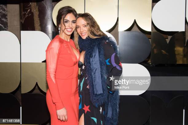 Shari Loeffler and Zoe Buckman attend the 2017 Museum of Arts Design MAD Ball at Cipriani 42nd Street on November 7 2017 in New York City