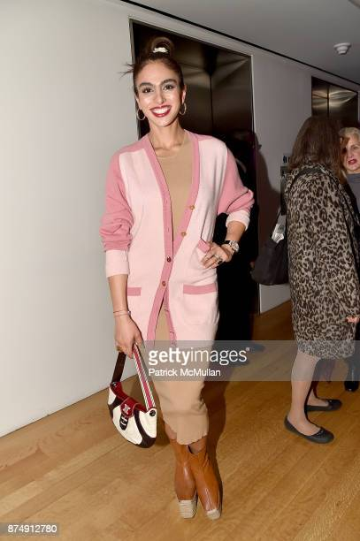 Shari Loeffler attends Barbara Tober hosts a party for 'AVEDON Something Personal' at Museum of Art and Design on November 15 2017 in New York City