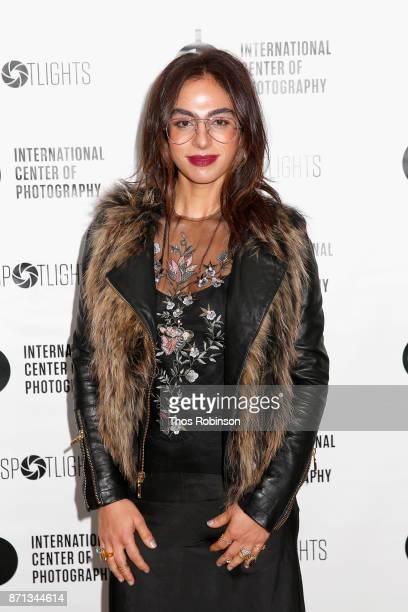Shari Loeffler attends The 2017 ICP spotlights luncheon honoring Pulitzer PrizeWinning photojournalist Lynsey Addario on November 7 2017 in New York...