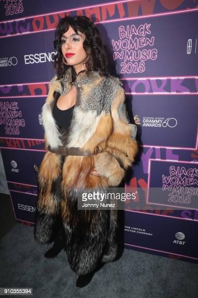 Shari Loeffler attends the Essence 9th annual Black Women in Music at Highline Ballroom on January 25 2018 in New York City