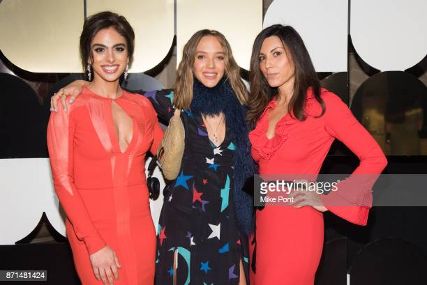 Shari Loeffler Zoe Buckman and Sheree Hovsepian attend the 2017 Museum of Arts Design MAD Ball at Cipriani 42nd Street on November 7 2017 in New York...