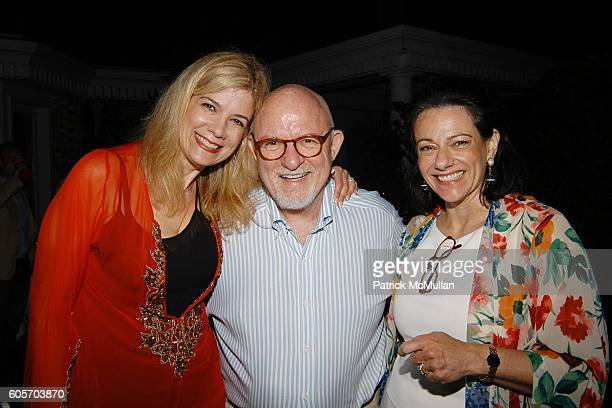 Shari Rollins Ed Rollins and KT McFarland attend Judy Licht and Jerry Della Femina Annual Independence Day Party at Della Femina Estate on July 1...