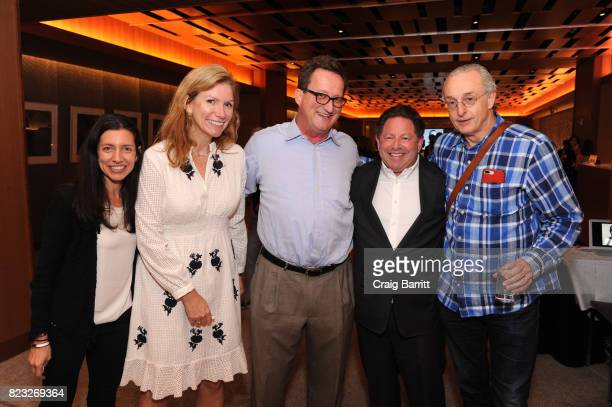 Shari Rosen of InterConnect Events Margot McGuinness of Breakthrough Prize guest CEO of Activision Blizzard Bobby Kotick and David Kirkpatrick of...