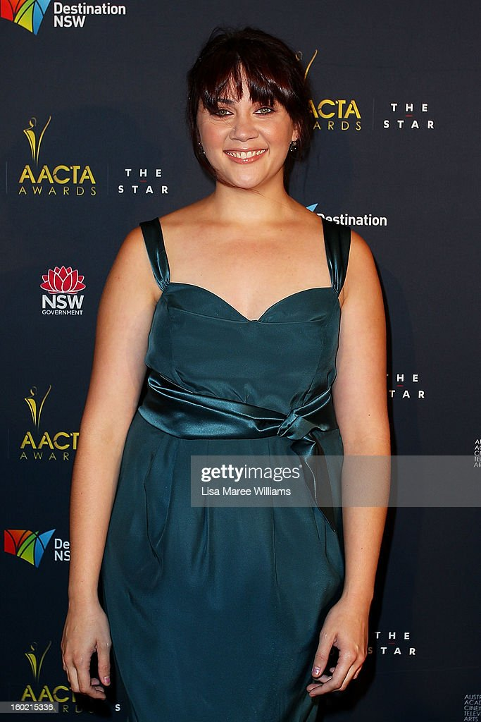 Shari Sebbens attends the 2nd Annual AACTA Awards Luncheon at The Star on January 28, 2013 in Sydney, Australia.